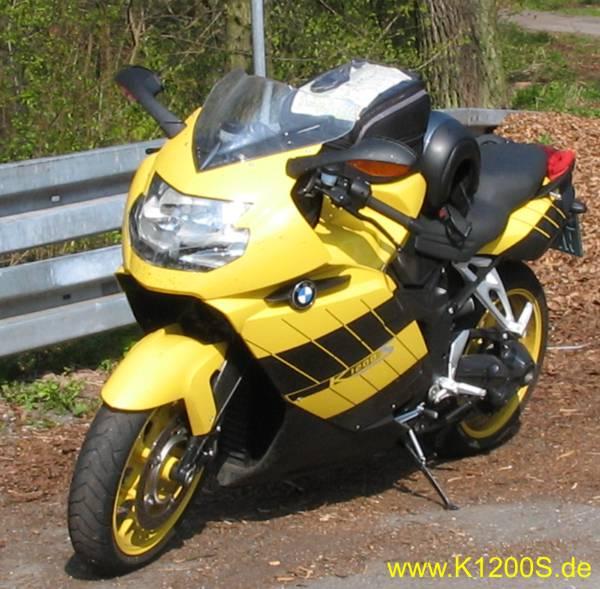 K1200s K 1200 S Bmw K1200s Gelb Bmw Motorrad Bilder De